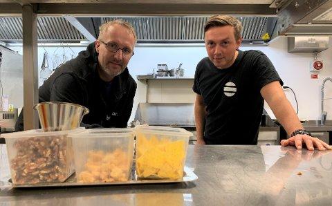 Driver Vidar Halvorsen og kokken Pavel Dzielkonski forteller om hvordan de skal ta større markedsandel av restaurantbransjen.