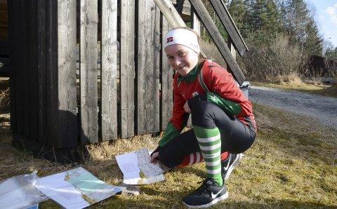 Vant fire av fire: Notodden Orienteringslags Synne Sandven imponerte under årets sørlandsgalopp. Nå venter tøffere motstand under O-ringen i Sverige.