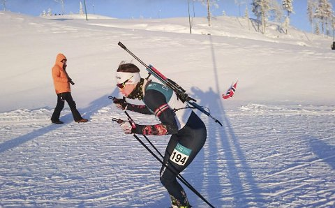 Ivrig: Even Uhlin-Engstu er ivrig i skiløypa, setter seg store mål og er engasjert. Han har 8 renn igjen av norgescupen, og satser på å gå til finalen.
