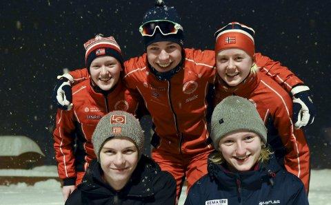 Hovedlandsrennet: Emma Engehult (b.f.v), Vebjørn Hovdejord, Kristin Nordgård er Heddals langrennsløpere under Hovedlandsrennet, mens Sondre Rosland Leiulfsrud og Heidi Dyhre Traaserud representerer klubben i hopp.