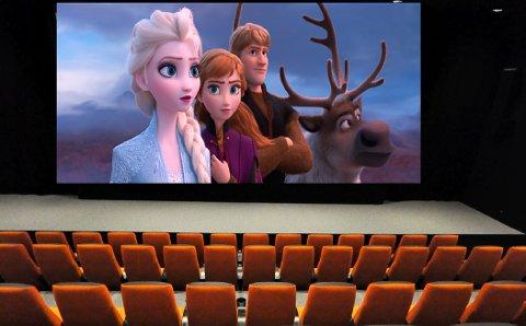 POPULÆR FILM: Igjen kommer Elsa og Disney-vennene hennes på det store lerretet i Notodden kino, seks år etter at den første Frost-filmen kom. Det har mange gledet seg til.