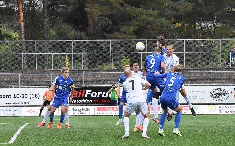 STØTTE: Notodden Fotball får 300 000 kroner fra kommunen til å drifte Optime Arena i 2021.