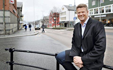 Finn Backer, daglig leder i Kristiansund og Nordmøre Næringsforum (KNN).