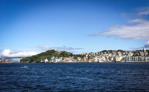 Kristiansund i sommervær. Vi får bare håpe ...