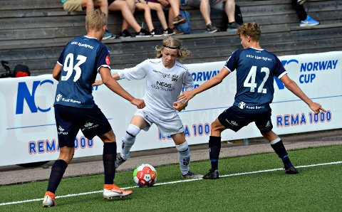 Heine Gikling Bruseth og KBK tapte finalen i gutter 16 år.