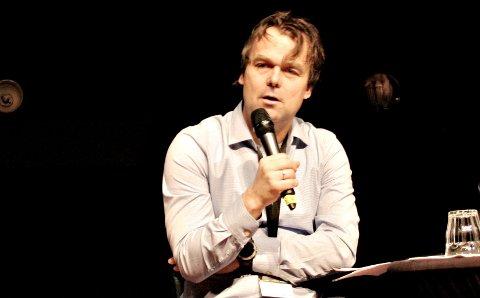 Ole Bjørner Loe Welde er styreleder i Driva AS, som nå skal finne ny redaktør til avisen. Bildet er tatt under en paneldebatt i fjor.