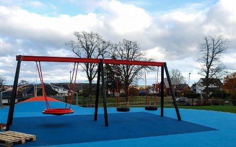 MEST TIL DE YNGSTE: De yngste kommer godt ut av rådmannens budsjett for 2017. Her fra Nøtterøys aller nyeste barnehage, nemlig Teiehøyden, som åpnet denne uken.
