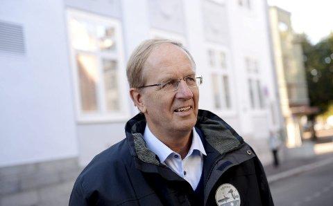 HAPPY END: Tønsberg-ordfører Petter Berg sier historien om grensejustering i Vear har fått en happy end, og er glad for det.