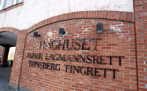 DØMT: Mannen ble dømt i Tønsberg tingrett.