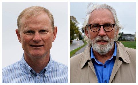 LEGER: Stortingsrepresentantene Erlend Larsen (H) og Carl-Erik Grimstad (V) forventer flere turnusleger til Vestfold.