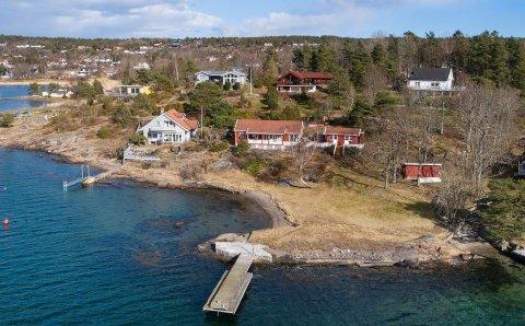SOLGT: Denne fritidseiendommen på Tjøme ble solgt til mange millioner.