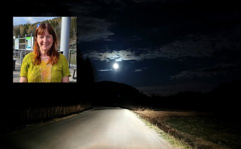 Det ble en lang og mørk vei hjem for Ester og samtlige andre som skulle via E18 tirsdag kveld.