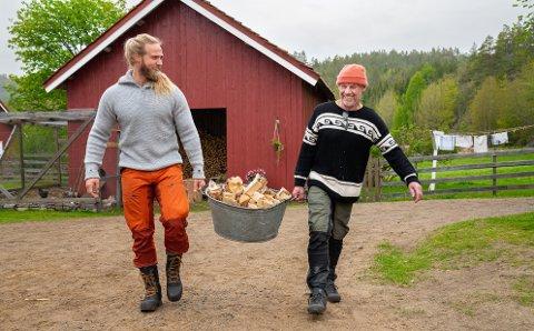 DÅRLIG STEMNING: Lasse Matberg fra Verdal er storbonde på Farmen Kjendis denne uken, og valgte onsdag Espen Thoresen til førstekjempe. Det falt ikke i god jord.