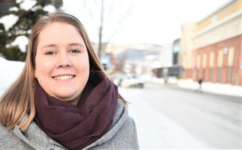 FORNØYD: Senterpartiets gruppeleder, Dorthea Elverum, stiller seg gladelig bak å bruke 3,7 millioner på et stipendiat- og forskningsprogram ved Nord universitet i Stjørdal.