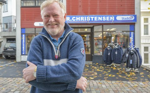 En tid for alt: Knut Ivar Christensen legger ned sportsbutikken Reidar Christensen AS. Han er annen generasjons driver av familie-bedriften som faren etablerte i 1960.Foto: Mette Urdahl