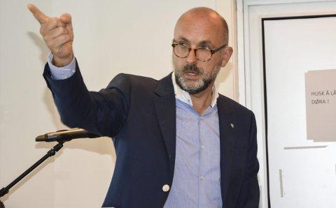Jarle Bjørn Hanken: Reagerer på uttalelse fra Risørs avtroppende kultursjef Jorunn Bøe, der Tvedestrand fremstilles som en kulturfattig kommune. Arkivfoto