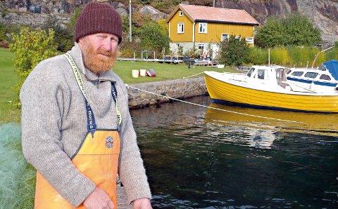 Grunneier Jan Monrad: Nekter for å være den vanskelige parten i saken, og mener det er politikernes feil at hyttefeltet i Åstø har blitt en gjenganger i rettssystemet. Arkivfoto