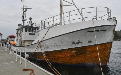 Tokai: Bygget i 1915, og ombygd en rekke ganger etter det. Forliste ved Røstbanken i 1986, men ble  fikset opp og fortsatte sin virksomhet som fiskebåt i Finnmark. Foto: Olav Loftesnes