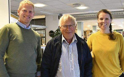 Xtra-listas forhandlingsutvalg: Krister Moen (fv), Rolf Siljedal og Ingeborg Marcussen Hübertz foregrep begivenhetens gang i avtaleforslag til Ap. Arkivfoto