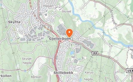 Rundkjøringene på Gjelleråsen.