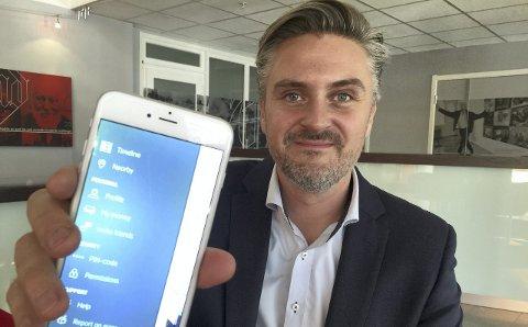 SOLGTE I 2015: Daniel Döderlein solgte mCash til Sparebank 1 i 2015. Nå går Sparebank 1 inn i Dnbs Vipps.