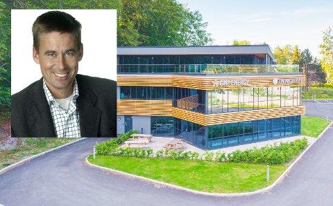 NY SJEF: August Baumann (innfelt) er ansatt som konserndirektør i strømselskapet GNP Energy.