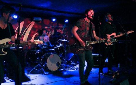 Maldito spiller på arrangementet Rocktober fest 2019 på Reenskaug førstkommende lørdag. Her er bandet fra en konsert i Liverpool.