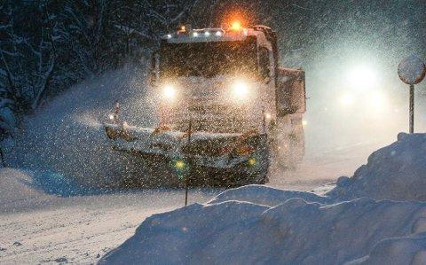 Det har falt mye snø i Amtaland det siste.