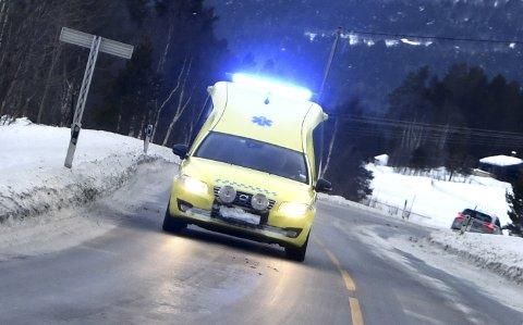OVER FJELLET: Stadig flere norddøler kjøres til sykehuset på Tynset