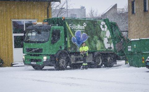 Nye tider: Follo Ren innfører en ny ordning for sorteringen den enkelte husstand skal utføre fra 1. oktober. foto: Åsmund A. Løvdal