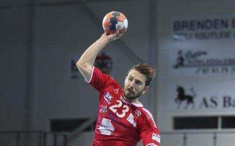 MÅLSCORER: Stian Andre Brevik ble Haslums toppscorer mot Falk Horten, med åtte mål.