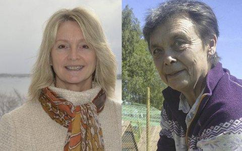 Tove-Lise Torve (t.v.) og Kristin Sørheim.