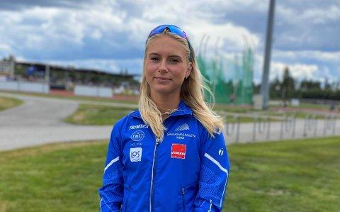 USA NESTE: Lørdag avsluttet Anne Hjorth Arntsen sesongen med Norgeslekene på Jessheim. 15. august flytter hun til USA og Texas, der hun har fått idrettsstipend.