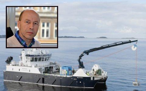 UPRØVD: Sjefsingeniør Lars Hem i Vann- og avløpsetaten understreker viktigheten av at konsepter de benytter seg er velutprøvd. Det er ikke Waterise sin avsalting på sjøbunnen, påpeker han.
