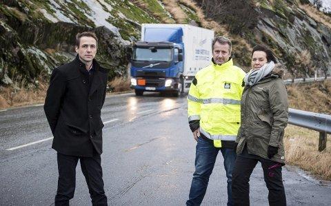 Glombergene: Det første veiprosjektet som kan realiseres på fylkesvei 17 er uansett veiparsellen Ørnes-Glomfjord, der regulerings-planene er ferdig, påpeker ordfører Sigurd Stormo.Foto: Johan Votvik
