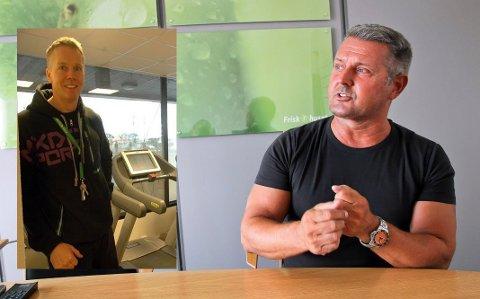 Tore Handberg (innfelt) og Hans Austad.