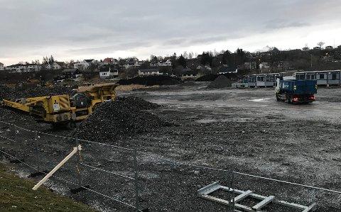 Hent er i gang med å bygge det topp moderne anlegget i Nepåkeren ved Børsingveien i Bodø.