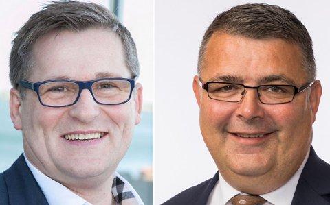 Dagfinn Olsen og Kjell-Børge Freiberg