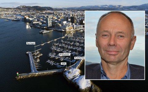 – Moloen er mer enn en plass å gå tur, sier leder Kjell Ingebrigtsen i Norges Fiskarlag.