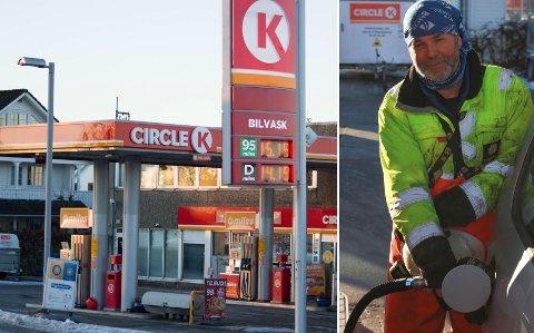 Dyrere: Det koster stadig mer å fylle drivstoff, og nå kan prisene øke enda mer, til Toms frustrasjon.