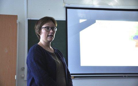 UFORSTÅELIG: Leder for Nordkapp og omegn turlag, Heidi Holmgren, syns det er helt uforståelig at hele Nordkapp-platået skal være privat.