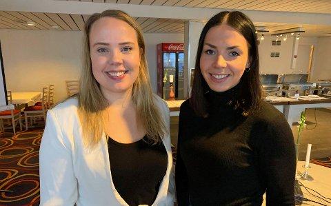 REISELIV: Marte Gabrielsen og Marianne Berg i Visit Nordkapp jobber for å gjøre Nordkapp og Magerøya til et mer attraktivt reisemål.