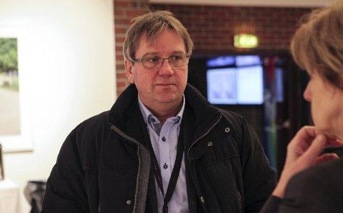 Forsyningssjefen: Statoil sin forsyningssjef på norsk sokkel, Gunnar Owe Gundersen, kunne komme med godt nytt under Vekst i vest-konferansen. Foto: David E. Antonsen