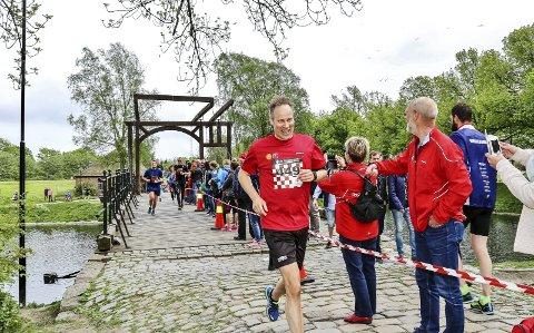 VANT DUELLEN: Jon-Ivar Nygård vant ordførerduellen mot Sarpsborgs Sindre Martinsen–Evje.