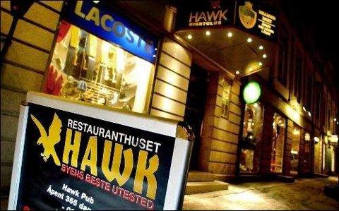 Åpner mandag: Hawk er stengt denne helgen også etter 12 skjenkeprikker og inndragning av bevilling.