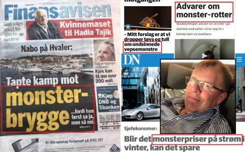 MONSTERORD: Håkon Aurlien (63) er tidligere journalist i Fredriksstad Blad. Han er bosatt i Rygge, og har jobbet med medier og kommunikasjon mesteparten av livet. Og her har han bitt seg merke i spesielt ett ord, som han mener blir brukt feil.