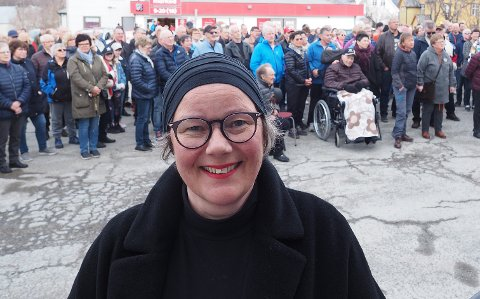 Ann-Chatrin Braseth har stått på for delingen av Tysfjord med alternativ B og vært mye i media, men mener selv hun ikke er sentrum. – Jeg er bare ei kraft som ser mulighetene og som jobber for noe vi tror på, sier hun.