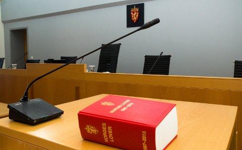 UTEBLE: Mannen erkjente straffskyld på alle punktene i politiavhør. Han møtte ikke opp i retten.