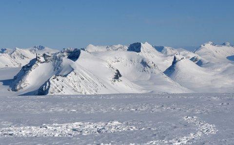 Jotunheimen er, som også de fleste andre fjellområder, kategorisert med moderat fare for snøskred første helga i desember.