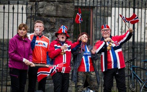 – Det er fantastisk å være her, sa Tove Lillemoen like etter at Lillehammers U23-ryttere hadde passert Lillehammer sykkelklubbs telt langs løypa i Bergen for åttende gang.